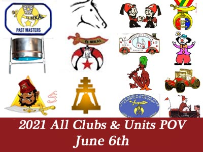 2021 All Units & Clubs POV